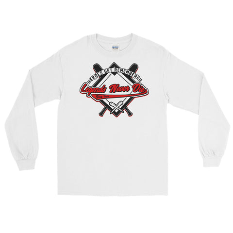 THE HEATER (Men's Long Sleeve Shirt)