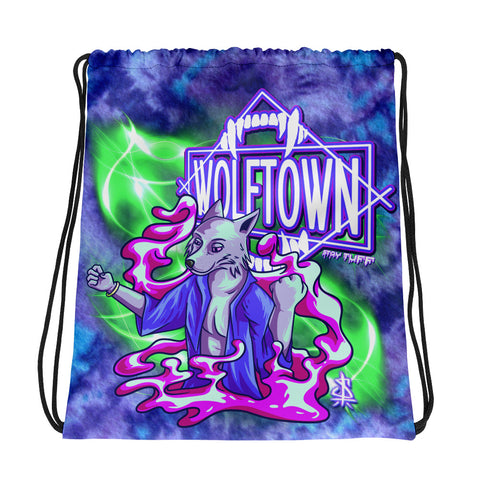 WOLFTOWN 'NEW MOON' (Drawstring Bag)