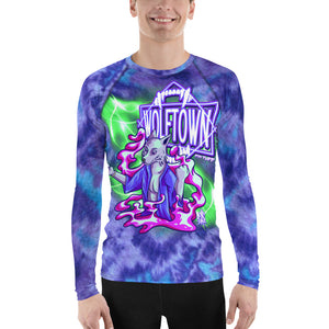 WOLFTOWN 'NEW MOON' (All-Over Print Men's Rash Guard)