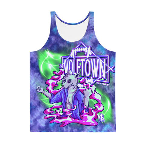 WOLFTOWN 'NEW MOON' (Unisex All-Over Print Tank Top)