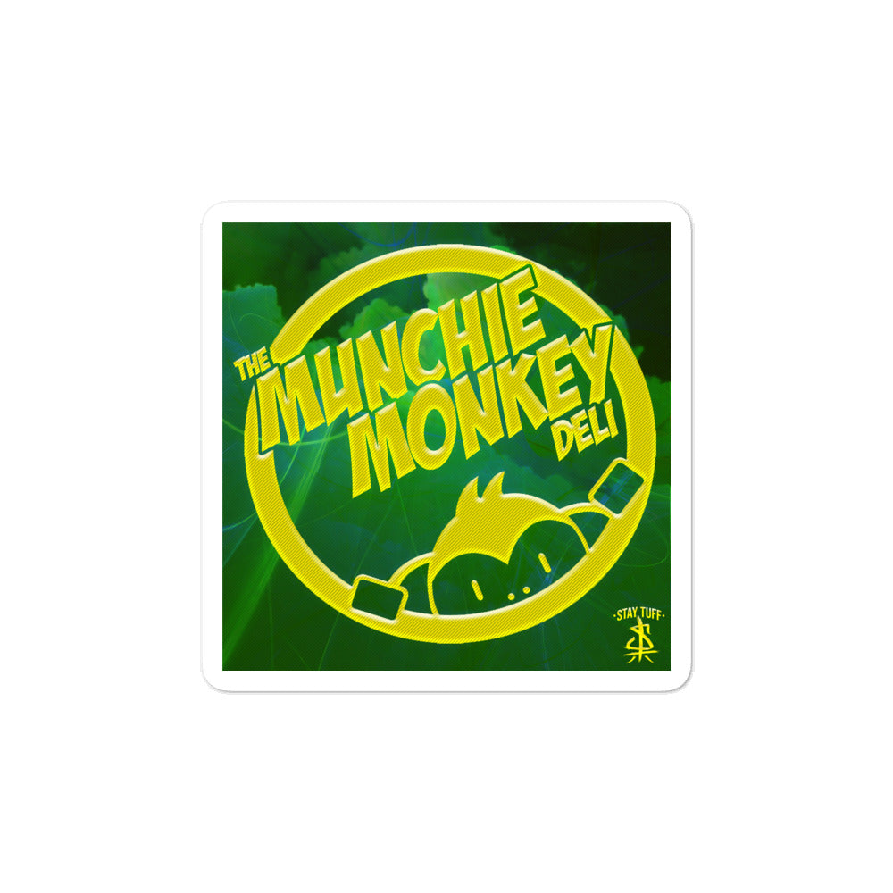 MUNCHIE MONKEY DELI (Sticker)