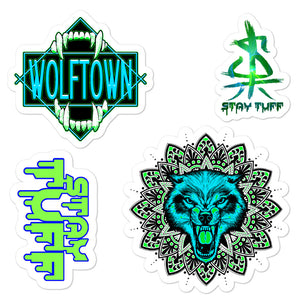 WOLFTOWN 'SWITCH IT' (Sticker Pack)
