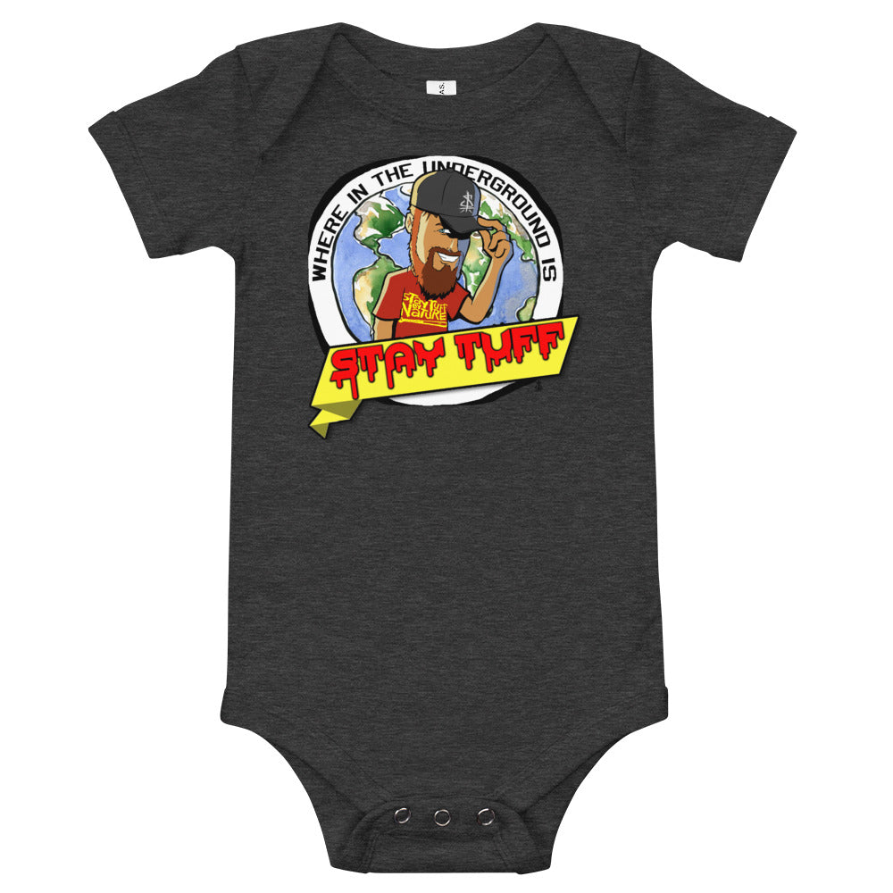 WHERE IN THE UNDERGROUND... (Baby One Piece T-Shirt)