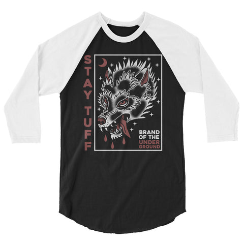 BORN SURVIVOR (3/4 sleeve raglan shirt)