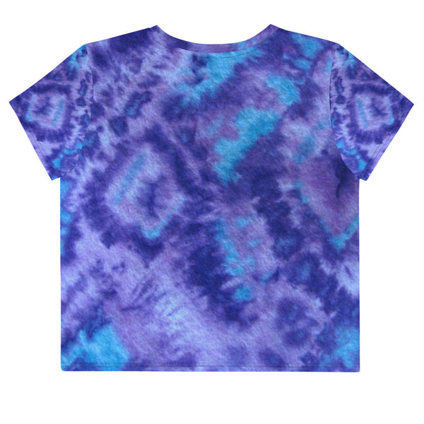 WOLFTOWN 'NEW MOON' (All-Over Print Crop T-Shirt)