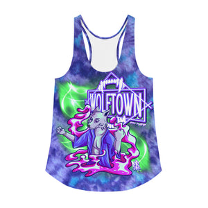 WOLFTOWN 'NEW MOON' (Women's All-Over Print Tank Top)