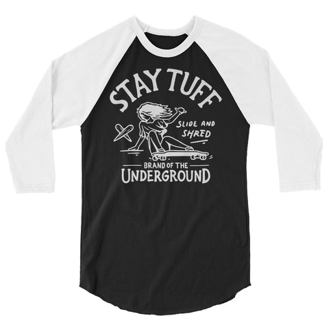 DOGTOWN DAZE (3/4 Sleeve Raglan Shirt)