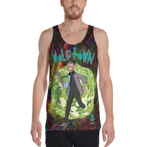 WOLFTOWN 'PORTAL' (Unisex All-Over Print Tank Top)