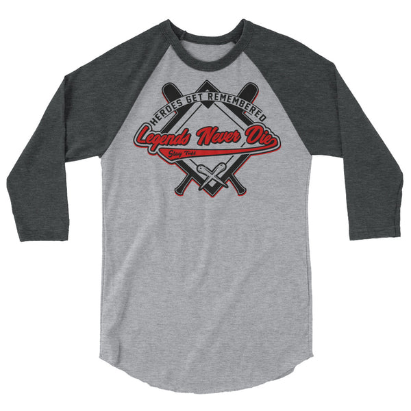 THE HEATER (3/4 sleeve Raglan Shirt)