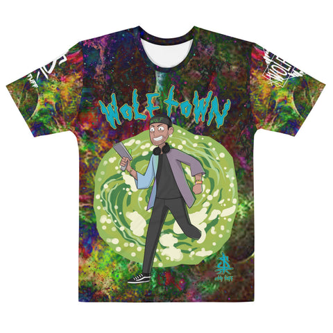 WOLFTOWN 'PORTAL' (All Over Print T-shirt)