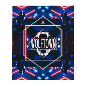 WOLFTOWN 'UNCHAINED' (Throw Blanket)