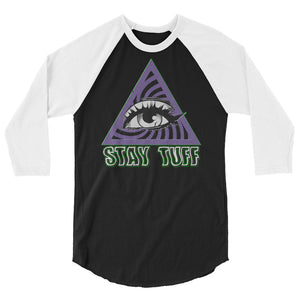 STRANGE & UNUSUAL (3/4 Sleeve Raglan T-Shirt)