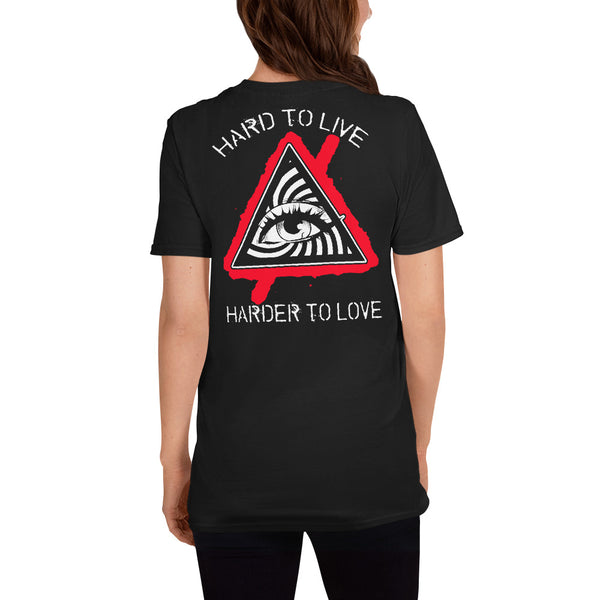 HARD TO LIVE, HARDER TO LOVE (Concert T-Shirt)