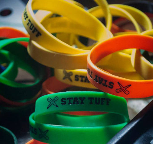 STAY TUFF (Silicone Wristbands)