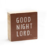 Good night Lord