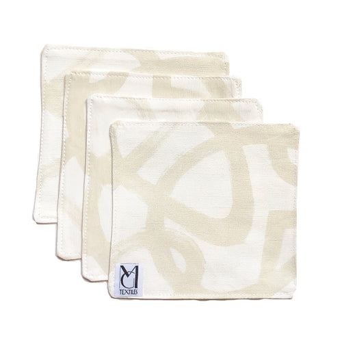 Anna Sand Cocktail Napkin Set