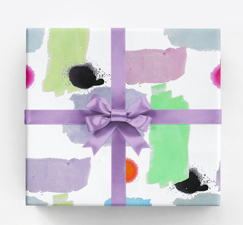 Anna Black White Gift Wrap