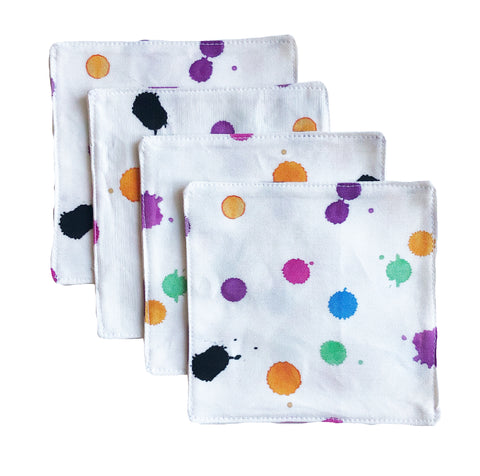 Luna Fuchsia Cocktail Napkin Set