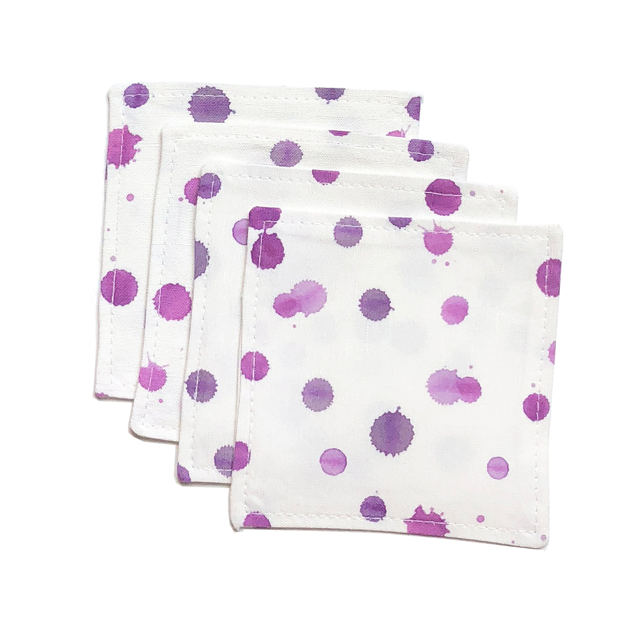 Luna Orchid Cocktail Napkin Set