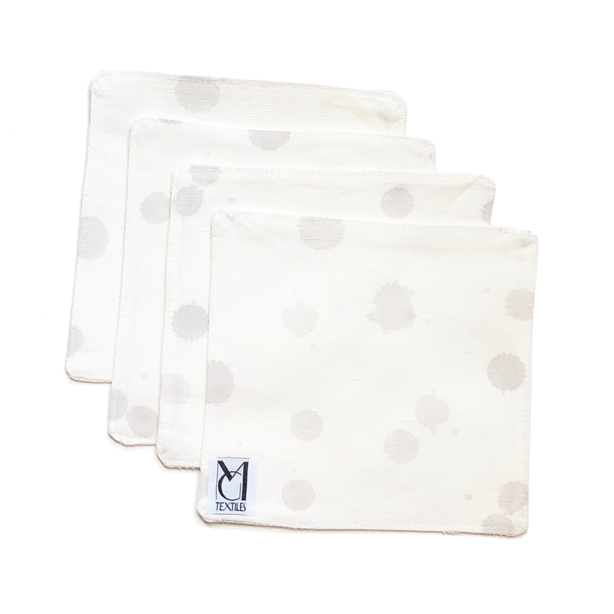 Luna Sterling Cocktail Napkin Set