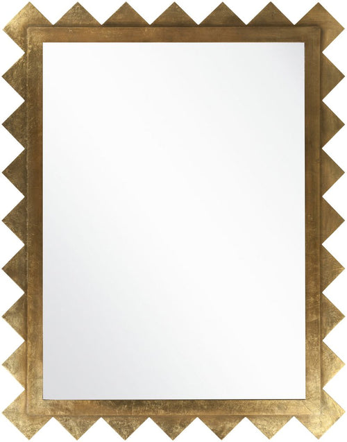 Gilded Graphic Mirror