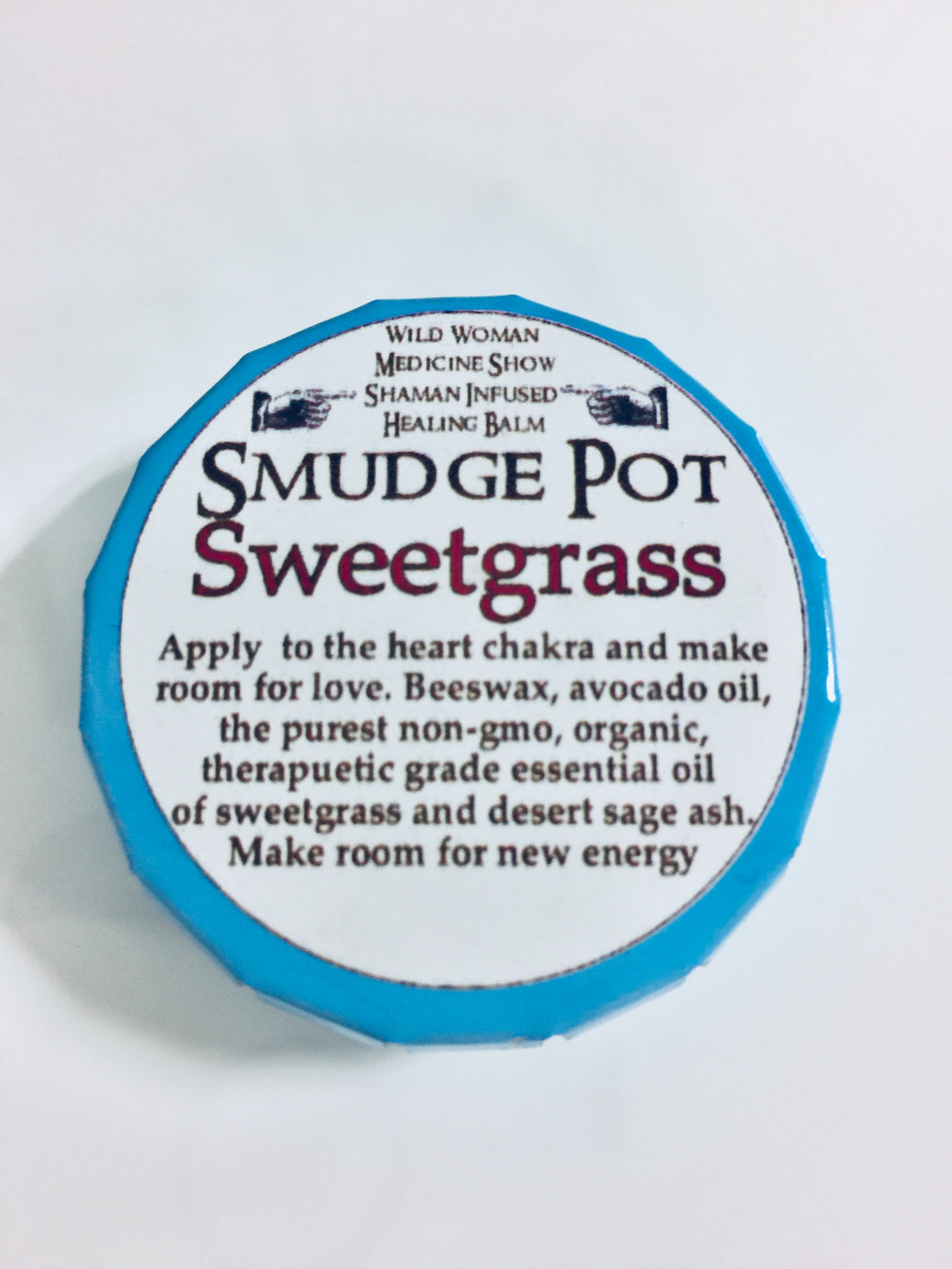 Smudge Pot - Sweetgrass