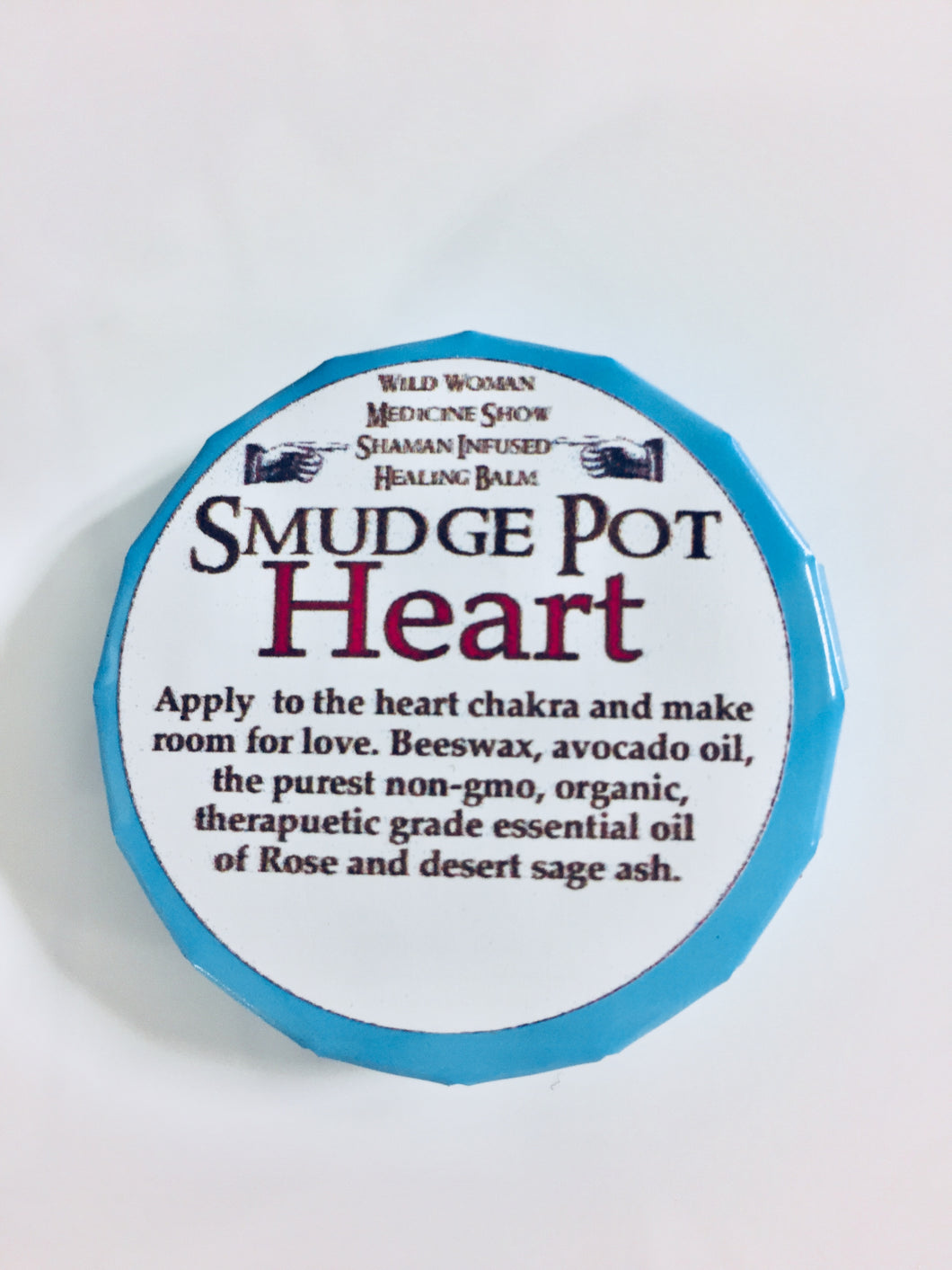 Smudge Pot - Heart