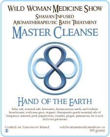 Master Cleanse - Hand of the Earth - Bath Treatment