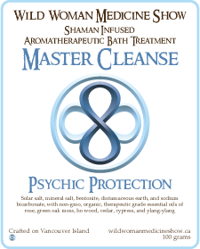Master Cleanse - Psychic Protection - Bath Treatment