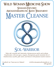Master Cleanse - Sol-Warrior - Bath Treatment