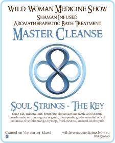 Master Cleanse - Soul Strings - The Key - Bath Treatment