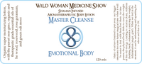 Master Cleanse - Emotional Body - Premium Lotion