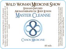 Master Cleanse - Chaos Medicine - Premium Lotion