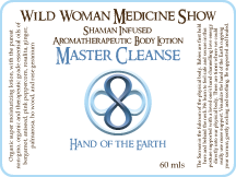 Master Cleanse - Hand of the Earth - Premium Lotion