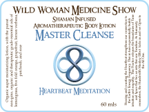 Master Cleanse - Heartbeat Meditation - Premium Lotion