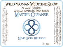Master Cleanse - Mind/Body Release - Premium Lotion