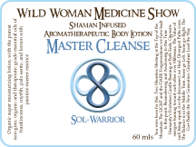Master Cleanse - Sol-Warrior - Premium Lotion