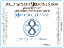 Master Cleanse - Spirit/Soul Retrieval - Premium Lotion