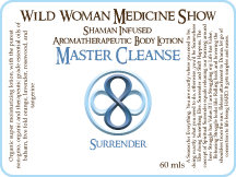 Master Cleanse - Surrender - Premium Lotion