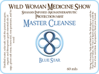 Master Cleanse - Blue Star - Protection Mist