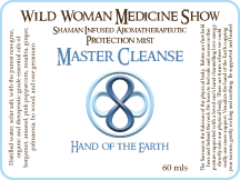 Master Cleanse - Hand of the Earth - Protection Mist