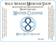 Master Cleanse - Mind/Body Release - Protection Mist
