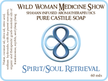 Master Cleanse - Spirit/Soul Retrieval - Pure Castile Soap