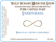 Traditional - Sweetgrass - Pure Castile Soap