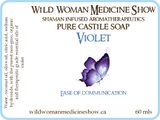 Traditional - Violet - Pure Castile Soap