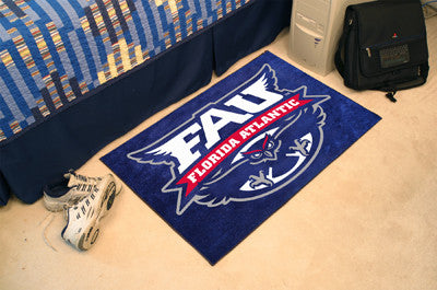 "Florida Atlantic Starter Rug 19""x30"""