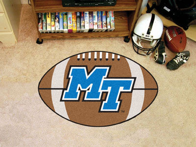 "Middle Tennessee State Football Rug 20.5""x32.5"""
