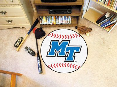 "Middle Tennessee State Baseball Mat 27"" diameter"