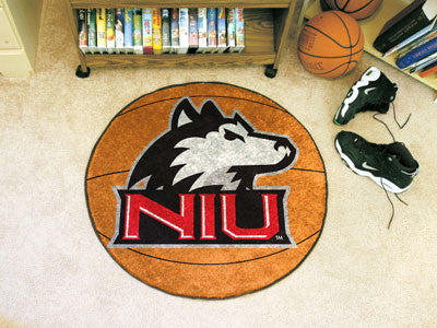 "Northern Illinois Basketball Mat 27"" diameter"