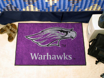 "Wisconsin-Whitewater Starter Rug 19""x30"""